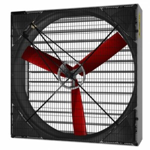 Multifan Galvanised box fan 130 3 blades